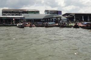 Пирс в Тайланде от которого плывете в Мьянму