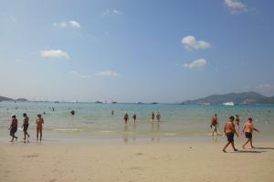 Погода Пхукета на пляже Патонг в январе 2012 года