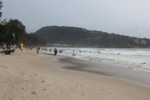 Погода Пхукета и волны на пляже Патонг в мае 2012 года