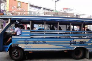 Государственный автобус до пляжа Камала
