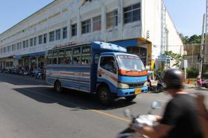 Общественный автобус на Пхукете