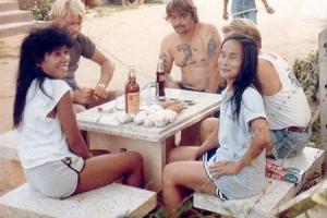 Барные девочки в 80х годах