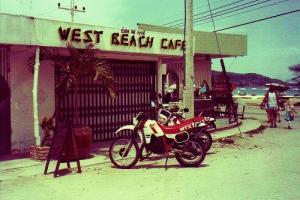 Одно из малочисленных кафе на Patong Beach в 80х