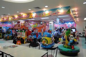 Детская игровая зона в Tesco Lotus на Пхукете
