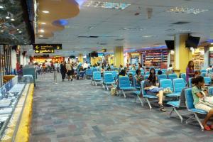 Зал ожидания внутренних рейсов