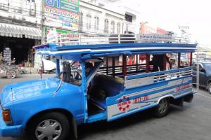 Автобус в Таланг