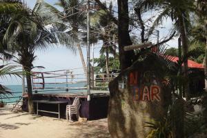 Боксерский ринг рядом с пляжем Sai Kaew на острове Самет в Тайланде