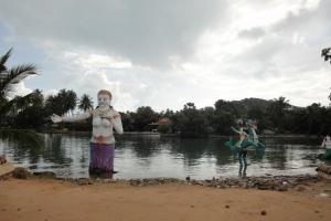 На территории Большого Будды на Самуи