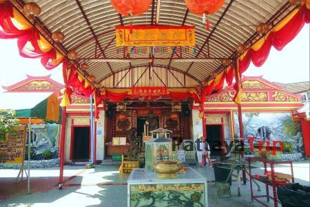 Put Jaw Temple - китайский храм на Пхукете