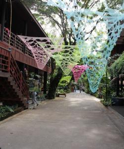 Территория дома-музея Джима Томпсона в Бангкоке