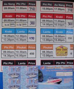 Билеты от Краби до различных городов Тайланда