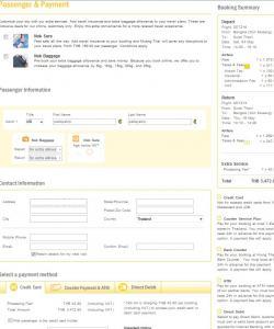 Этап 2. Заполнение личной информации и оплата