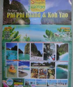 Программа экскурсии на Пхукете к островам Ко Яо и Пхи-Пхи