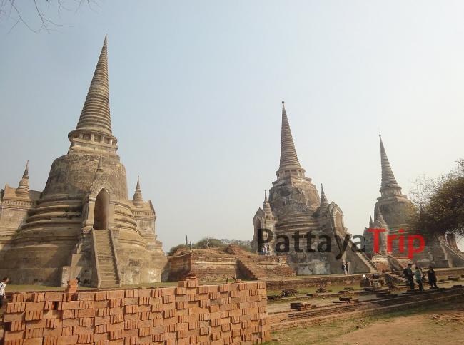 Wat Phra Si Sanphet - достопримечательности Аюттаи (Таиланд)