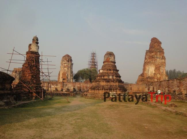 Wat Mahathat в Аюттая