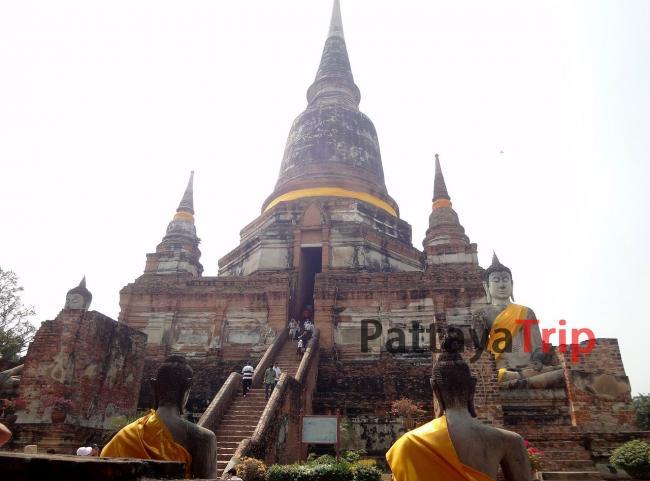 Wat Yai Chaimonghon в Аюттайя (Тайланд)