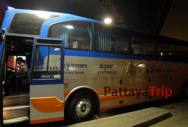 Автобус Бангкок - Аюттая