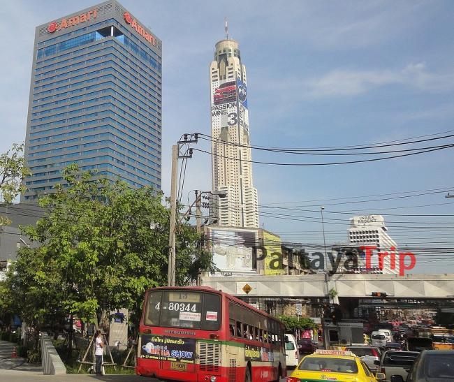 Отель Baiyoke Sky - самое высокое здание в Тайланде