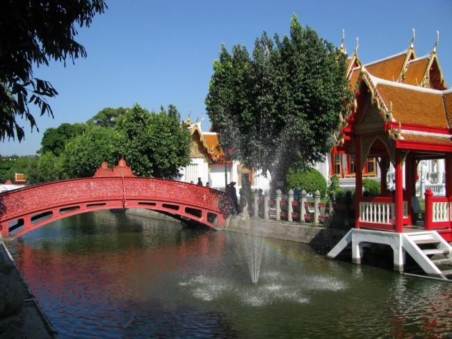 Парк при Мраморном храме