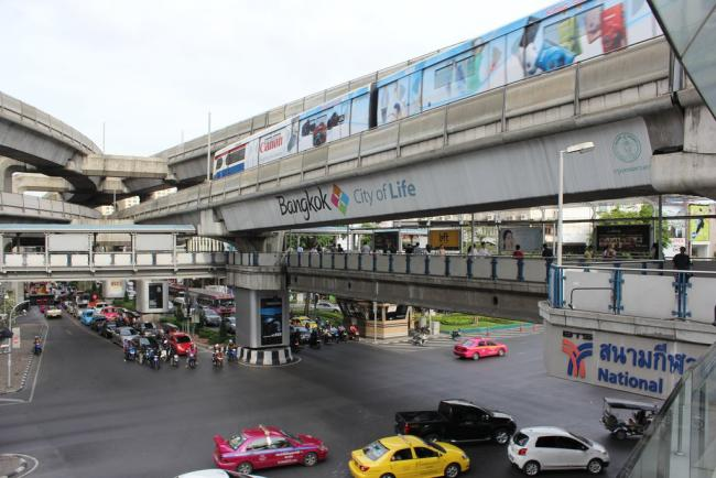 Станция BTS National Stadium в Бангкоке