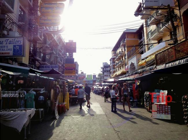 Каосан Роад в Бангкоке