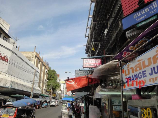 Переулок Tani рядом с Као Сан Роад