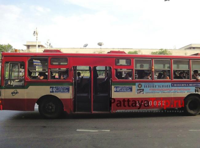 Городской автобус в Бангкоке