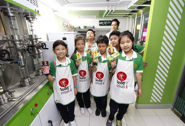 На фабрике зеленого чая