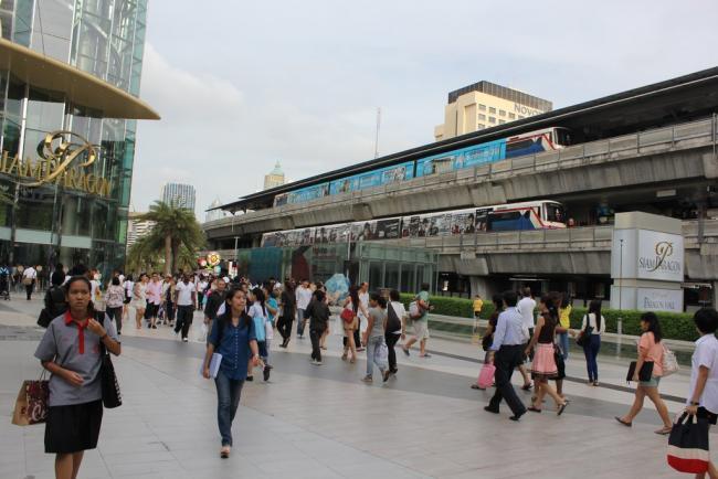 Метро Сиам в Бангкоке