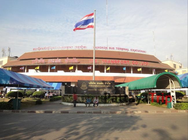 Автовокзал Мочит - рядом со станцией MRT Kamphaeng Phet