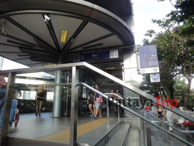 MRT Si Lom - станция подземного метро Бангкока