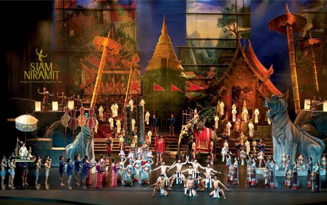 Шоу Siam Niramit в Бангкоке