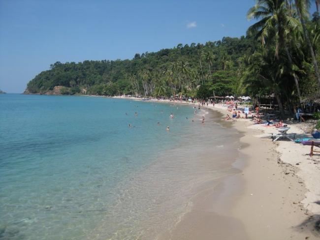 Пляж Lonely Beach на Ко Чанге
