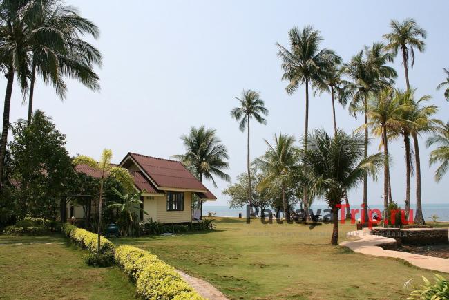 Северная часть пляжа Bailan