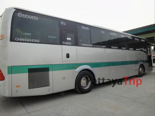 Автобус Чианг Май- Чианг Кхонг