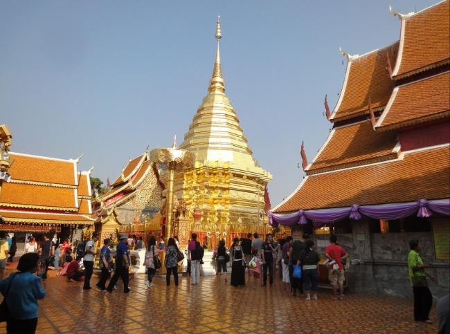 Храм Wat Doi Suthep (Чианг Май)