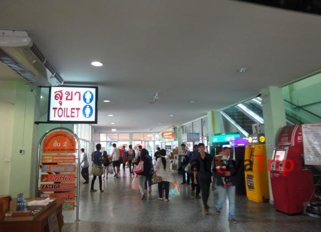 Первый этаж Bus Station 3