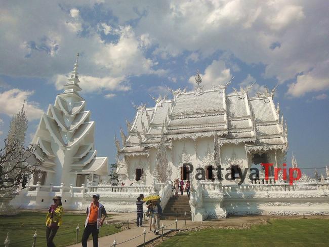 Белый храм в Чианг Рай (Тайланд)
