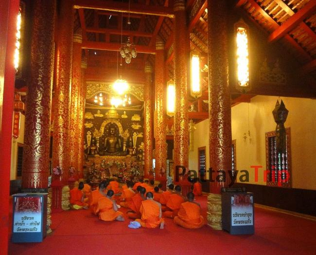 Храм Wat Phra Kaew в Чианг Рай