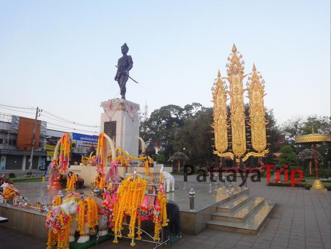Монумент королю Менграю