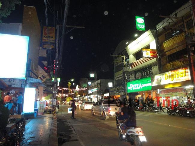 Ночной Чанг Рай