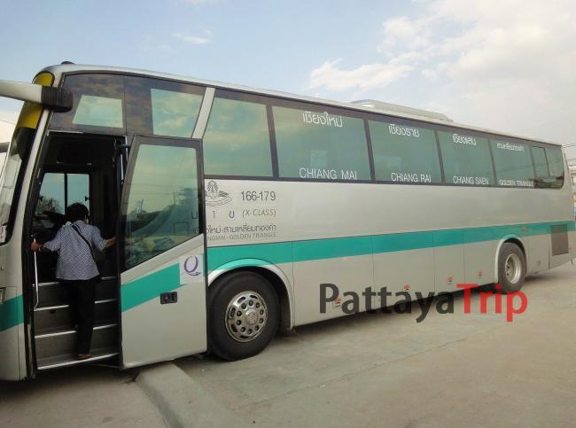 Автобус Чианг Май - Чианг Рай