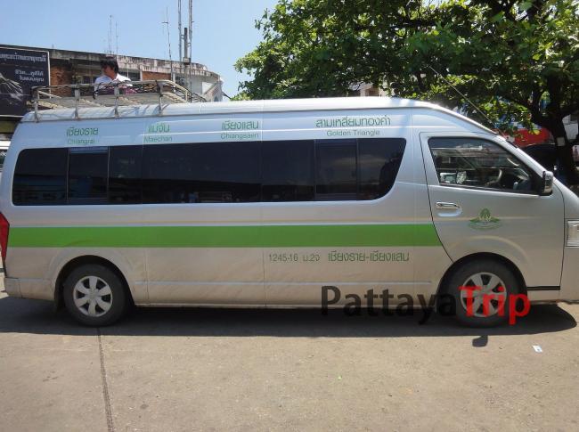 Автобус Чианг Рай - Чианг Саен - Золотой треугольник