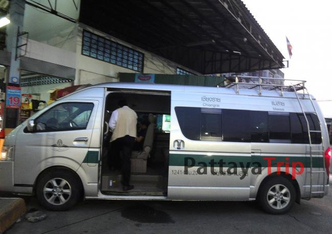 Микроавтобус Чианг Рай - Мае Сай