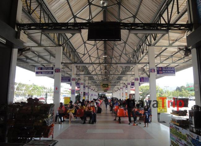 Новый автовокзал в Чианг Рай