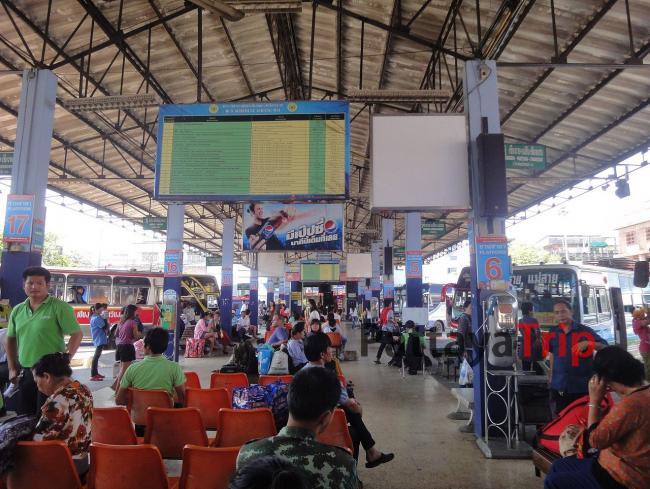 Старый автовокзал Чианграй
