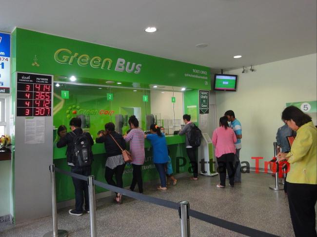 Билетная касса Green Bus в Чианг Май