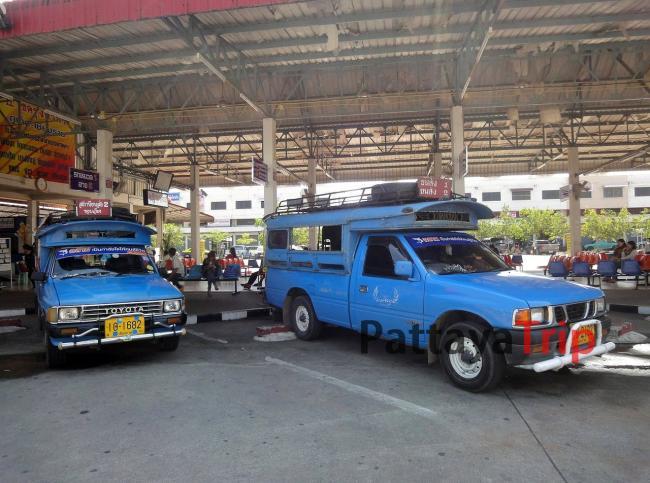 Голубые сонгтео между автовокзалами в Чианг Рай за 15 бат