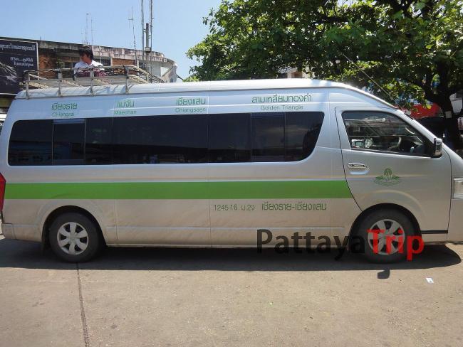 Автобус Чианг Рай - Золотой треугольник