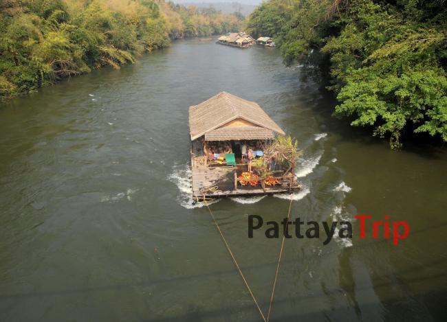 Плот на реке Квай